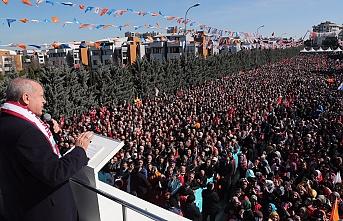 Cumhurbaşkanı Erdoğan Sancaktepe'de Önemli Mesajlar Verdi