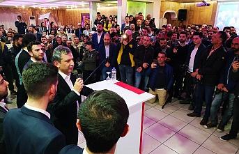 DP Çekmeköy Belediye Başkan Adayı Hüseyin Avni Sipahi Çekmeköy'de şaha kalktı
