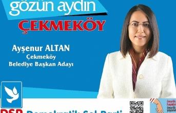 DSP Çekmeköy Merkez Solun Oylarına Talip