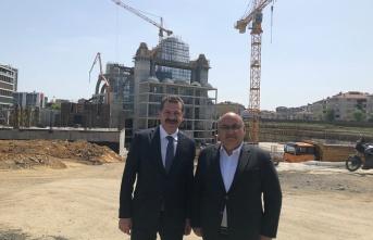 Balıkesir Büyükşehir Belediye Başkanı Yücel Yılmaz'dan Hasan Can'a Ziyaret