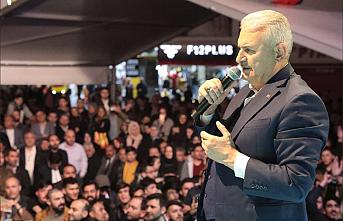 """Binali Yıldırım, """"İstanbullulara Hizmet İçin Bu Yola Girdik"""""""