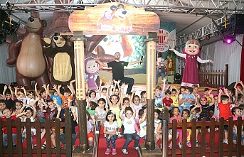 Ümraniye'de Görülmemiş Şenlik; Çocuklar Aileleriyle Birlikte Eğlenmeye Devam Ediyor