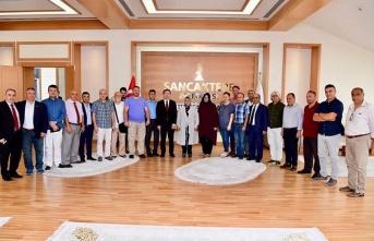 Sancaktepe Belediye Başkanı Şeyma Döğücü, Basın Emekçileri ile Buluştu