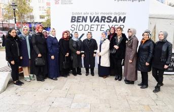 """Sancaktepe Belediye Başkanı Şeyma Döğücü:""""Kadına Şiddet, İnsanlığa da Bir İhanettir""""."""