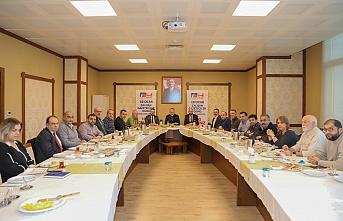 10 Ocak Gazeteciler Günün'de Başkan Ahmet Poyraz Bölgenin Gazetecileri ile İstişarede Bulundu