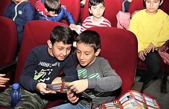 Ümraniye'de Çocuklar Yarıyıl Döneminde Doyasıya Eğleniyor