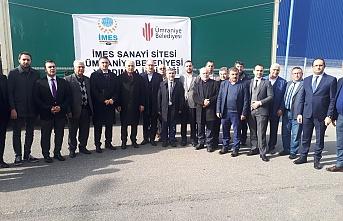 İMES Sanayi Sitesi İdlib'i Unutmadı