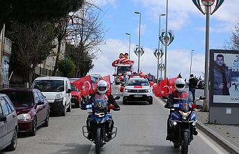 Çekmeköy Belediyesi'nden Duygulandıran 23 Nisan Konvoyu