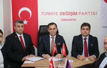 Türkiye Değişim Partisi Değişime Hızlı Başladı