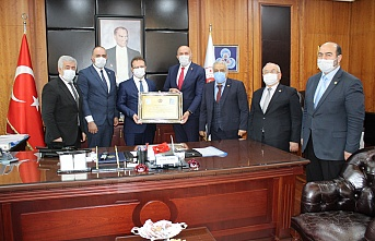 Muhtarlar Federasyonundan İstanbul Cumhuriyet Başsavcısı Şaban Yılmaz'a Anlamlı Ziyaret
