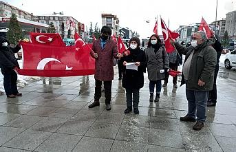 Vatan Partisi Çekmeköy İlçe Başkanlığı Terörü Protesto Etti