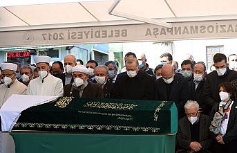 İçişleri Bakanı Soylu'nun annesi Servet Soylu son yolculuğuna uğurlandı