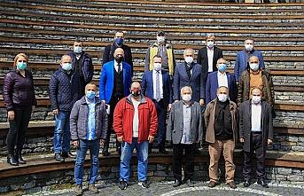 Başkan Ahmet Poyraz Basın Mensuplarıyla Buluştu