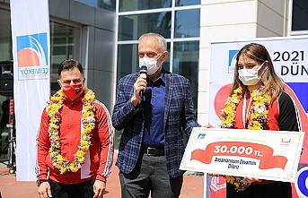 Başkan Poyraz'dan Çekmeköy'lü Milli sporcuya tebrik