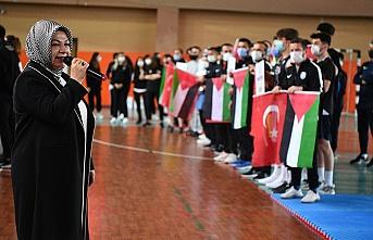 Sancaktepe olimpiyatlara hazırlanan Filistinli sporcuları misafir etti