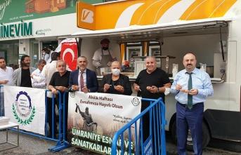 Ümraniye'de Gazi Haftası ve Ahi Kutlamaları  İcra Edildi