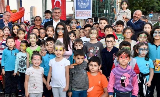 Başkan Hilmi Türkmen  Vatandaşlarla Abdulvahap Yıldırım Parkı'nda 5 Çayında Buluştu