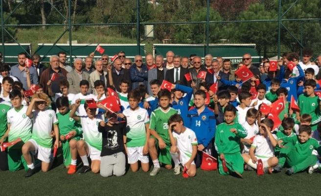 Başkan Hilmi Türmen Çamlıca Spor Kulübü ile  Cumhuriyetin 95. Yılı Coşkuyla Kutlandı