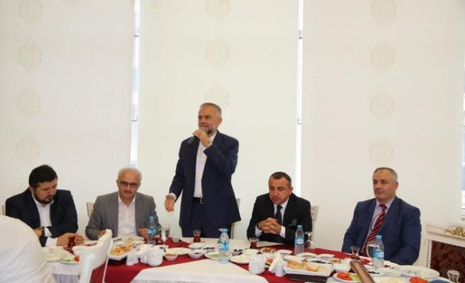 Başkan Poyraz Çekmeköy'deki Din Görevlilerini Ağırladı