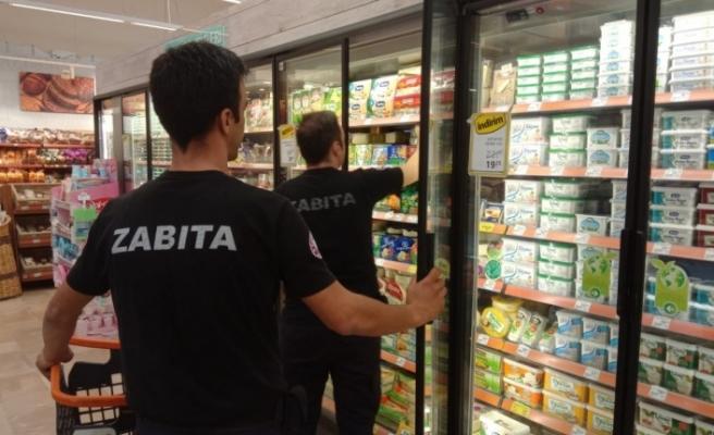 Çekmeköy Belediyesi Zabıta Ekiplerinden marketlere haksız kazanç denetimi