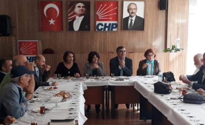 CHP İlçe Örgütü Başkanı Cafer Aktürk Basın Mensuplarıyla Bir Araya Geldi