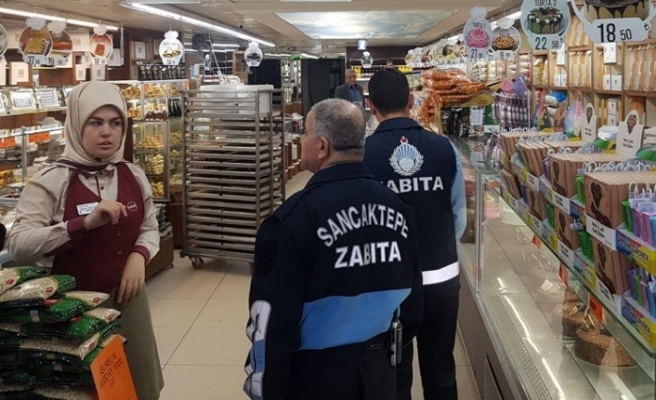 Sancaktepe Belediyesi Zabıta Müdürlüğü Denetimlerine Devam Ediyor