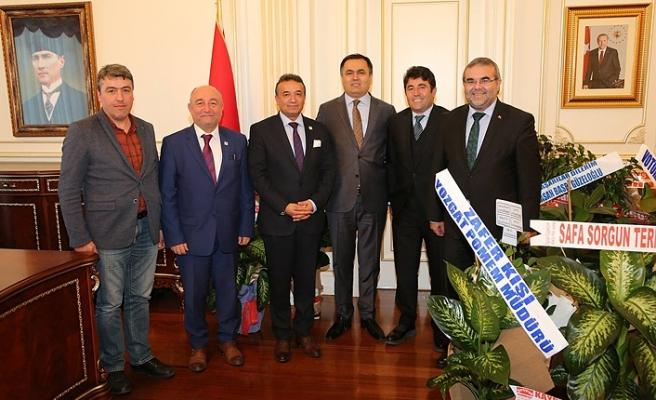 Yozgat Konfederasyonu'ndan Yozgat'a Atanan Vali Kadir Çakır'a Ziyaret