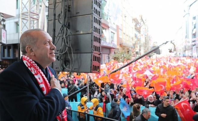 Cumhurbaşkanı Erdoğan Ümraniye Mitinginde Çok Önemli Mesajlar Verdi