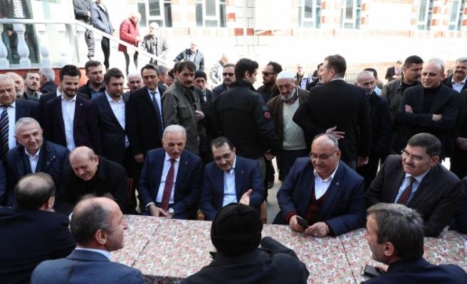 Enerji ve Tabii Kaynaklar Bakanı Fatih Dönmez Ümraniye'de