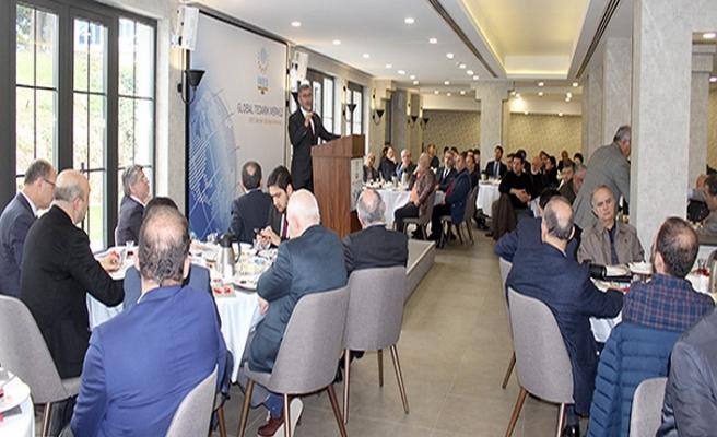 Hilmi Türkmen İmes'te  Sanayici ve İşadamlarıyla Buluştu