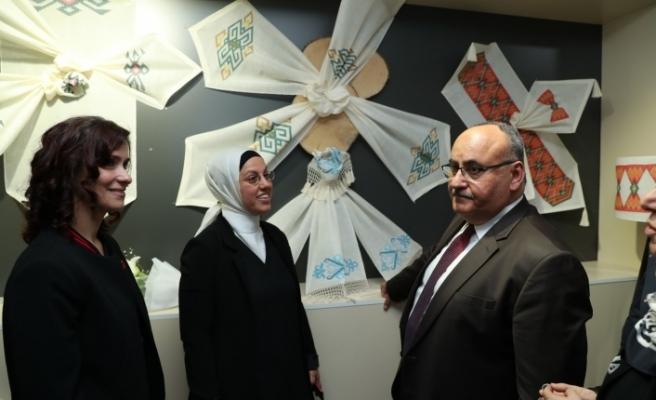 Ümraniye'de Milli ve Yerli Temalı Yıl Sonu Sergisi Göz doldurdu