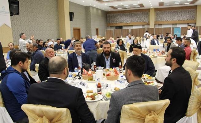 Fatih Sultan Mehmet Eğitim ve Yardımlaşma Vakfı'ndan anlamlı tanıtım yemeği