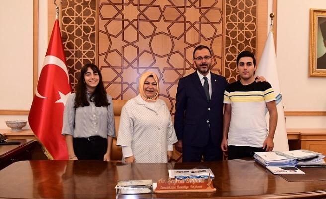 Bakan Kasapoğlu'ndan Sancaktepe Belediyesine Ziyaret