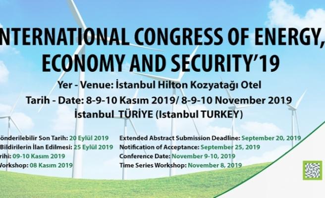 Enerji Ekonomisi Alanında Marka Bilim İnsanları İstanbul'da Biraraya Geldiler