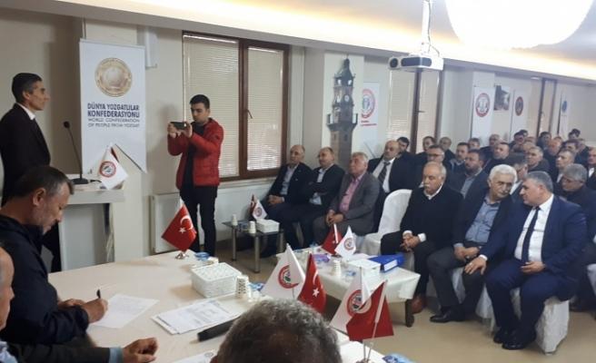 İstanbul Yozgatlılar Federasyonu Olağan Genel Kongresini Gerçekleştirdi