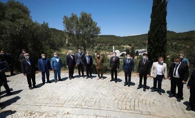 Türk Kızılay Ağadere Müzesi açıldı