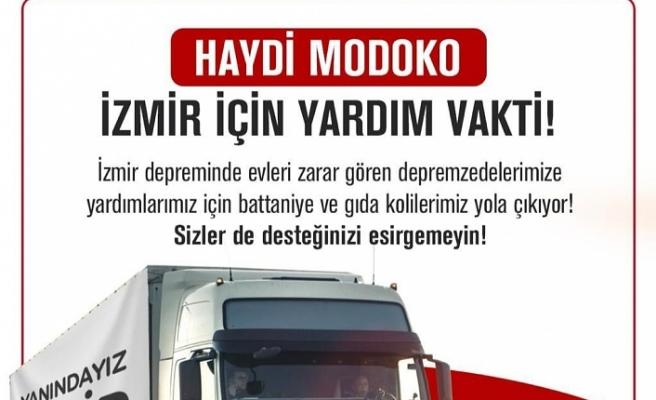 Modoko'dan İzmir'deki Depremzedelere Yardım Kampanyası