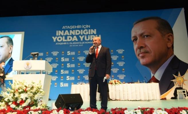 AK Parti Ataşehir 5. Olağan Kongresini Gerçekleştirdi