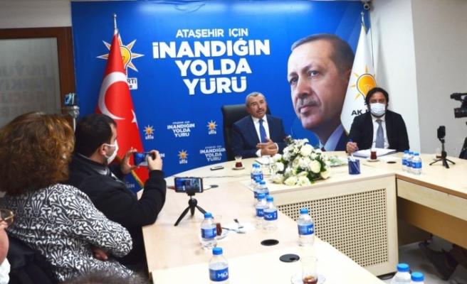 AK Parti Ataşehir İlçe Başkanı İsmail Erdem'den Yerel Basına Önemli Açıklamalar