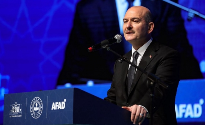 İçişleri Bakanı Süleyman Soylu, İstanbul İl Afet Risk Azaltma Planı Hazırlık Toplantısı'nda Konuştu