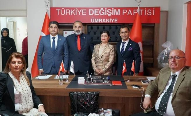 Türkiye Değişim Partisi Ümraniye İlçe Başkanı Ömer Urgun'a Tam Destek