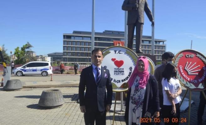 Türkiye Değişim Partisi Ümraniye İlçe Teşkılatından 19 Mayıs Mesajı