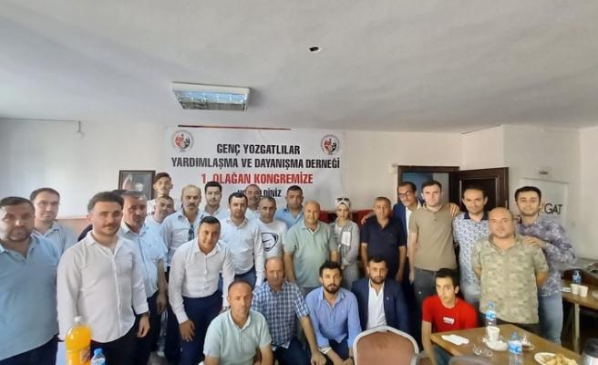 Genç Yozgatlılar Yardımlaşma ve Dayanışma Derneği 1. Olağan Kongresini Gerçekleştirdi