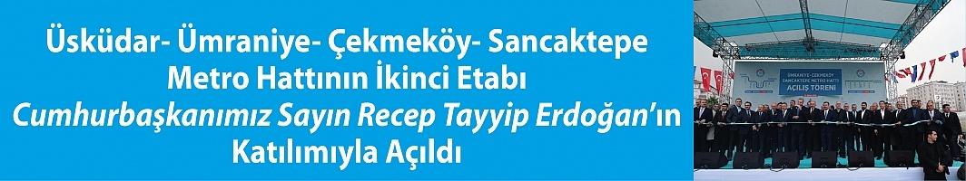 Anadolu Yakasını Rahatlatan Metro Hattı Açıldı