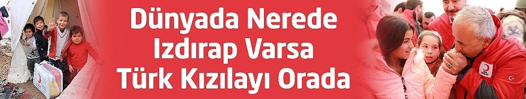Dünyada Nerede Izdırap Varsa Türk Kızılayı Orada