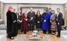 Ahde Vefa Platformu'ndan Diyanet işleri eski başkanı Prof.Dr.Mehmet Görmez'e ziyaret