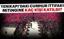 Ak Partiİstanbul Yenikapımitingine bugün kaç kişi katıldı? Başkan Erdoğan o sayıyı açıkladı!