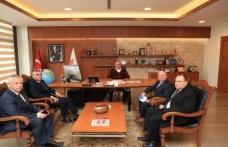 Yozgat İl Dernekler Federasyonu Başkanı Ali Haydar Tuncer'den Başkan Hasan Can'a Ziyaret