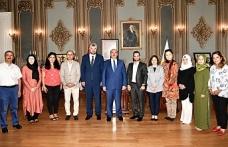 Rektör Mahmut Ak'a Ahde Vefa ziyareti gerçekleşti