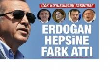 İşte son seçim anketi! Erdoğan ezdi geçti